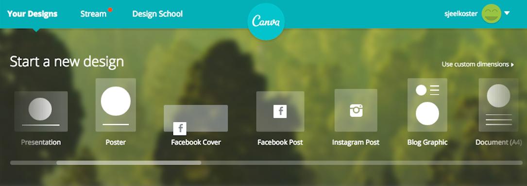 social media canva
