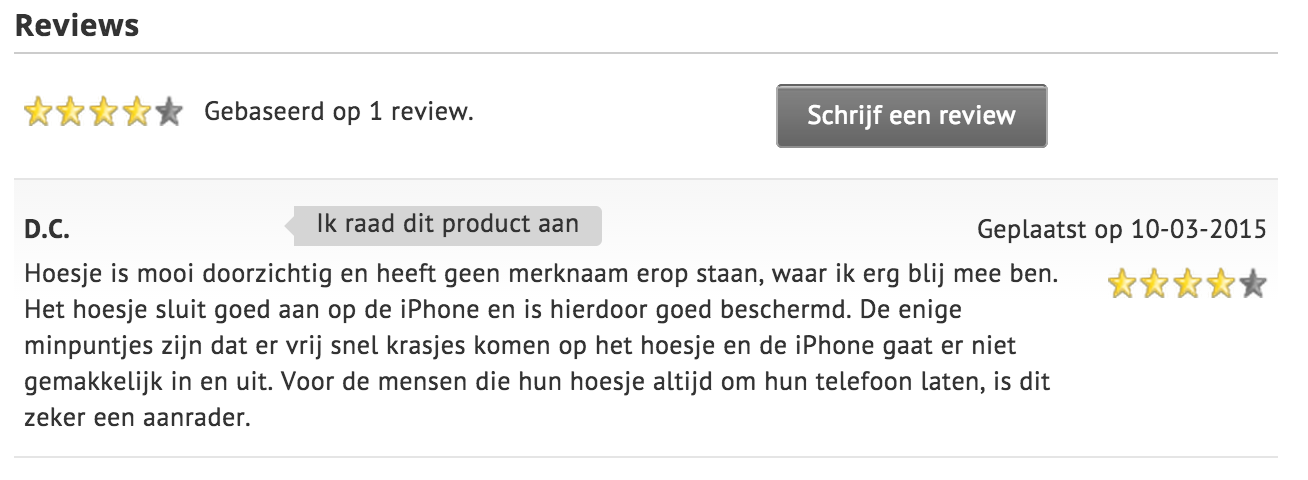 Productreviews