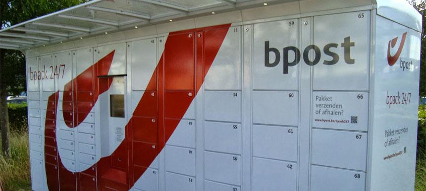 Bpost pakketautomaat