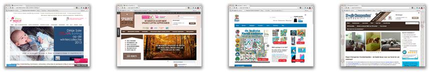 Genomineerde webwinkels