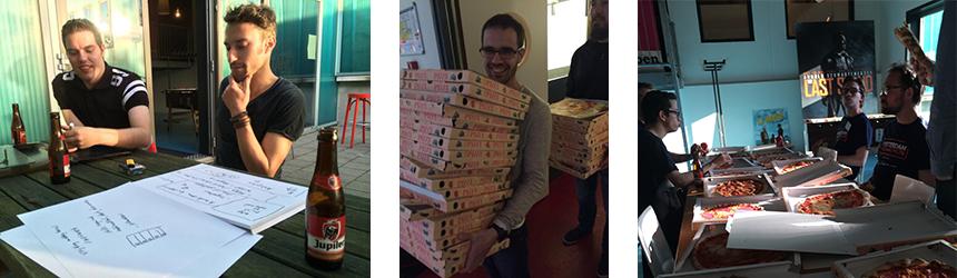 hackathon pizza