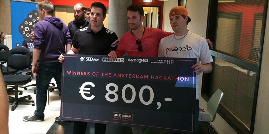 hackathon winnaars