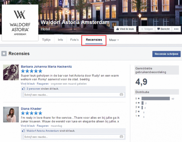 facebook-recensies