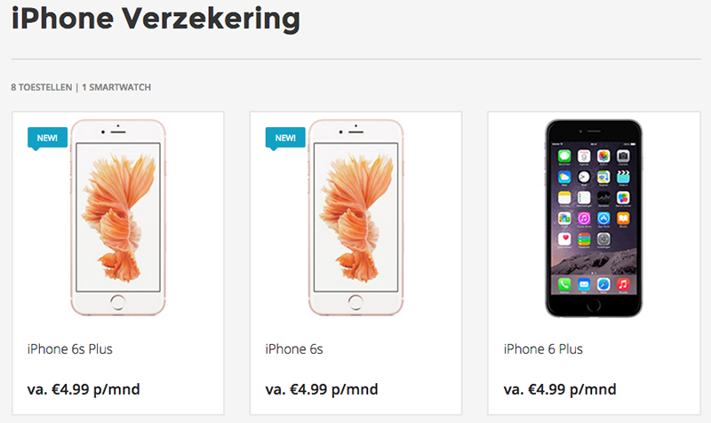 7. iphone verzekering