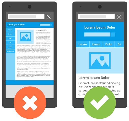 Responsive Webdesign Google