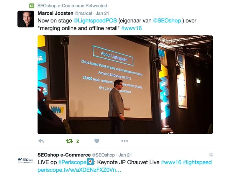 JP Chauvet Lightspeed Omnichannel WWV16