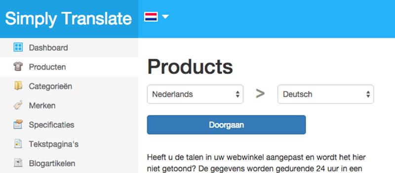 Breidt uit naar het buitenland en laat je webshop vertalen
