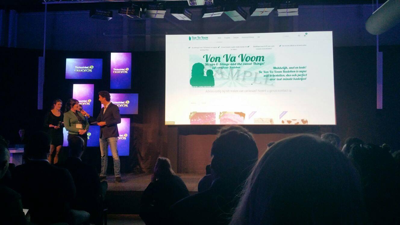 Von Va Voom thuiswinkel awards lightspeed