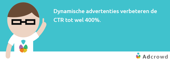 Dynamische advertenties