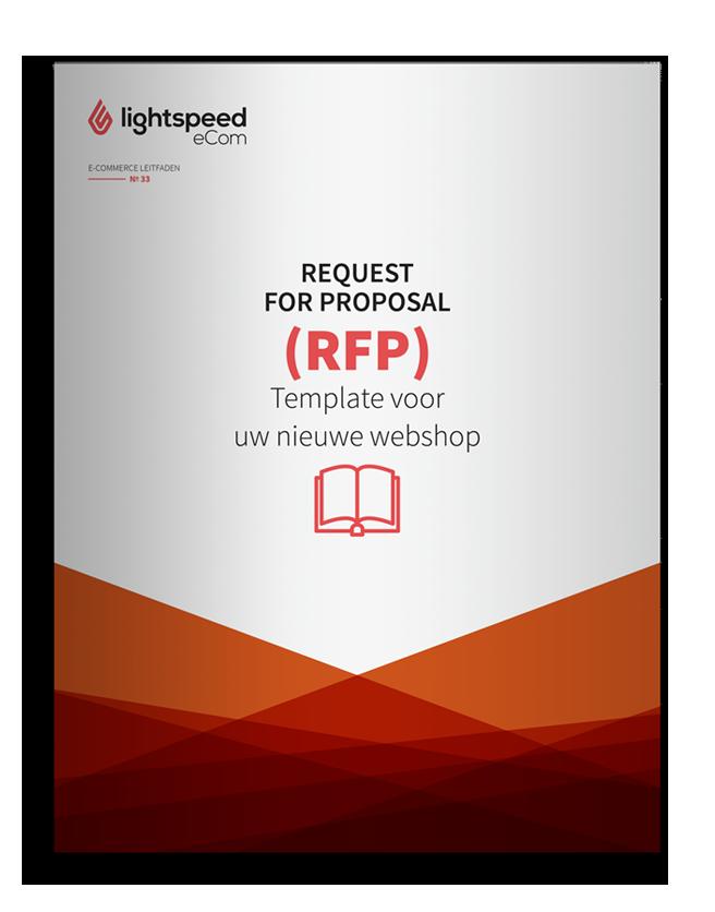 Een request for proposal (RFP) voor je webshop
