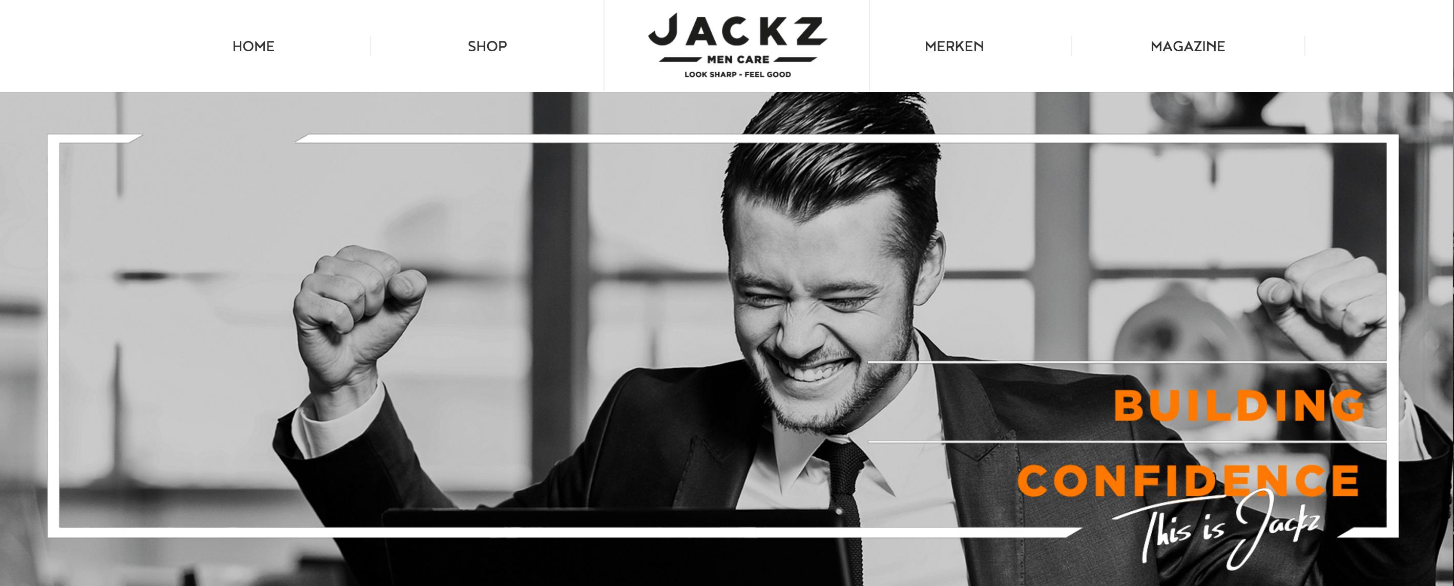 Jackz Lightspeed webshop