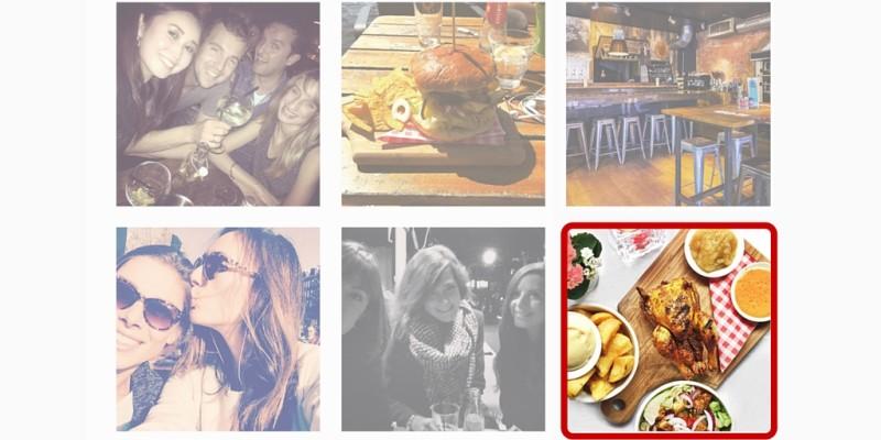 Kies een instagram foto voor je lightspeed menu