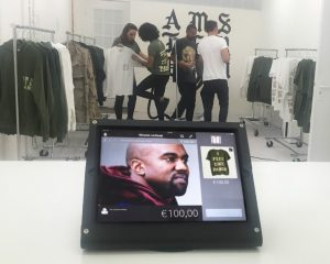 Kanye Amsterdam pop up
