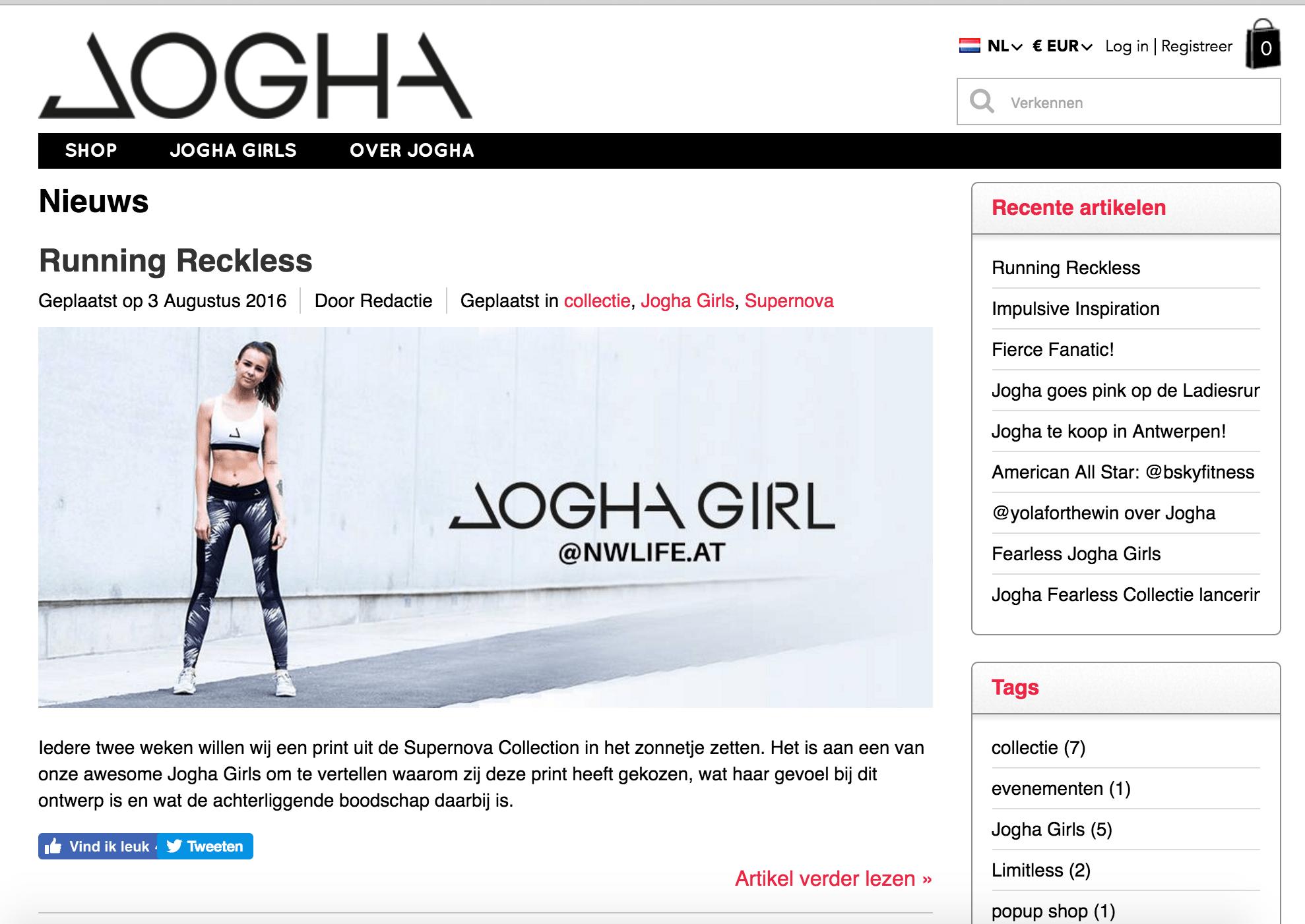 Jogha blog