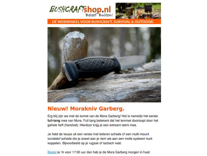 bushcraftshop newsbrief