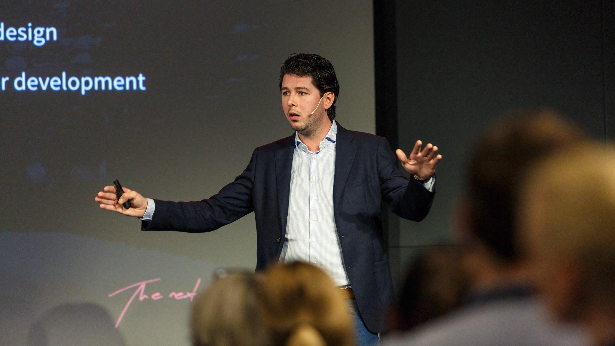Ruud Stelder tijdens Lightspeed Connect 2016