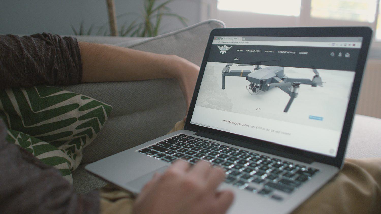 Drone webshop