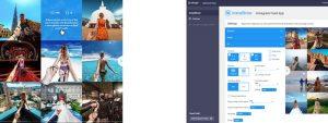 afbeelding in app interface InstaShow