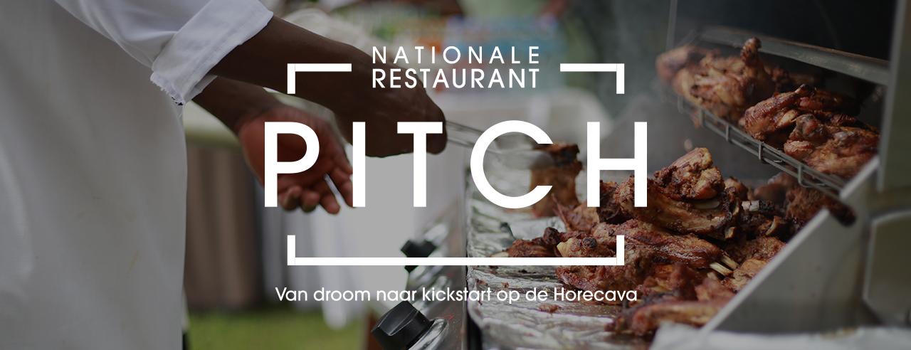 Schrijf je in voor de Nationale RestaurantPITCH