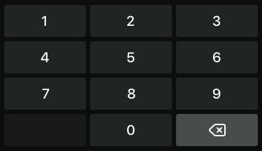Standaard numeriek toetsenbord 2