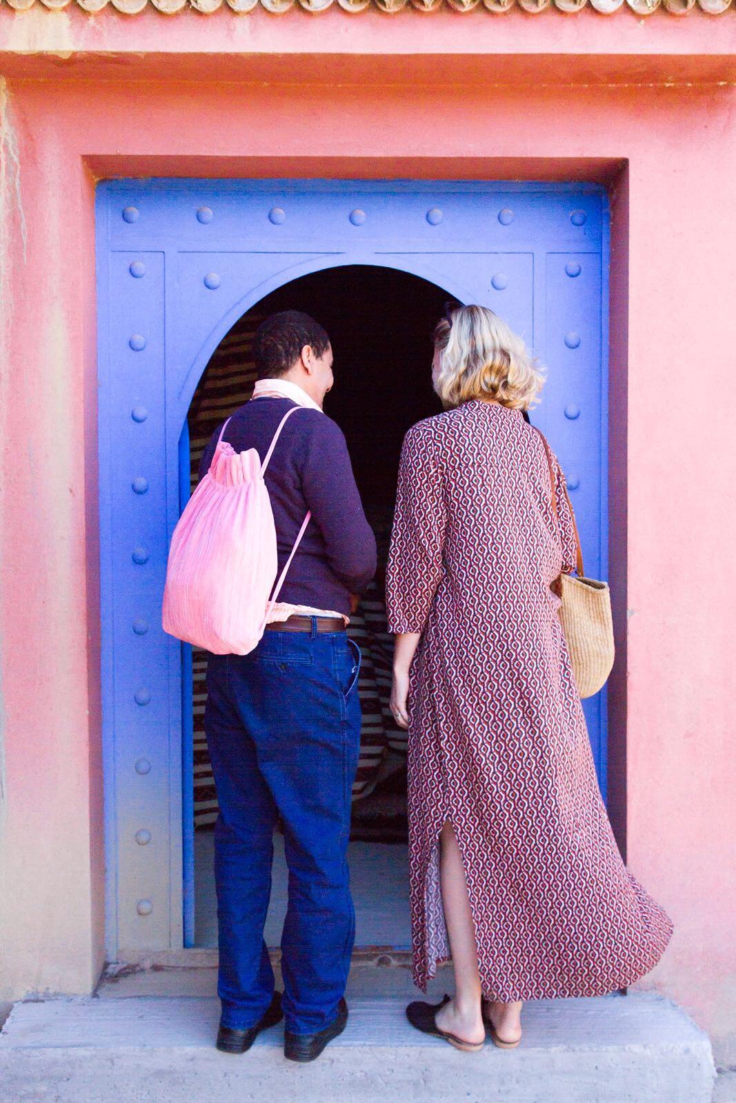 The Souks, Sandra in Marokko