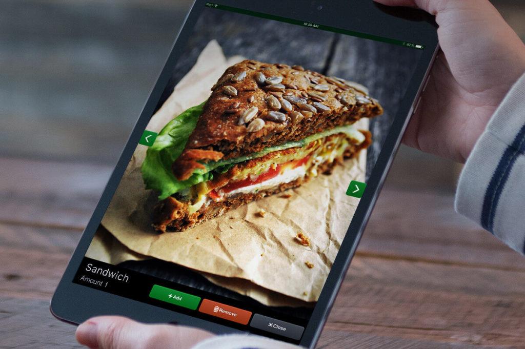 Lightspeed Restaurant op een iPad