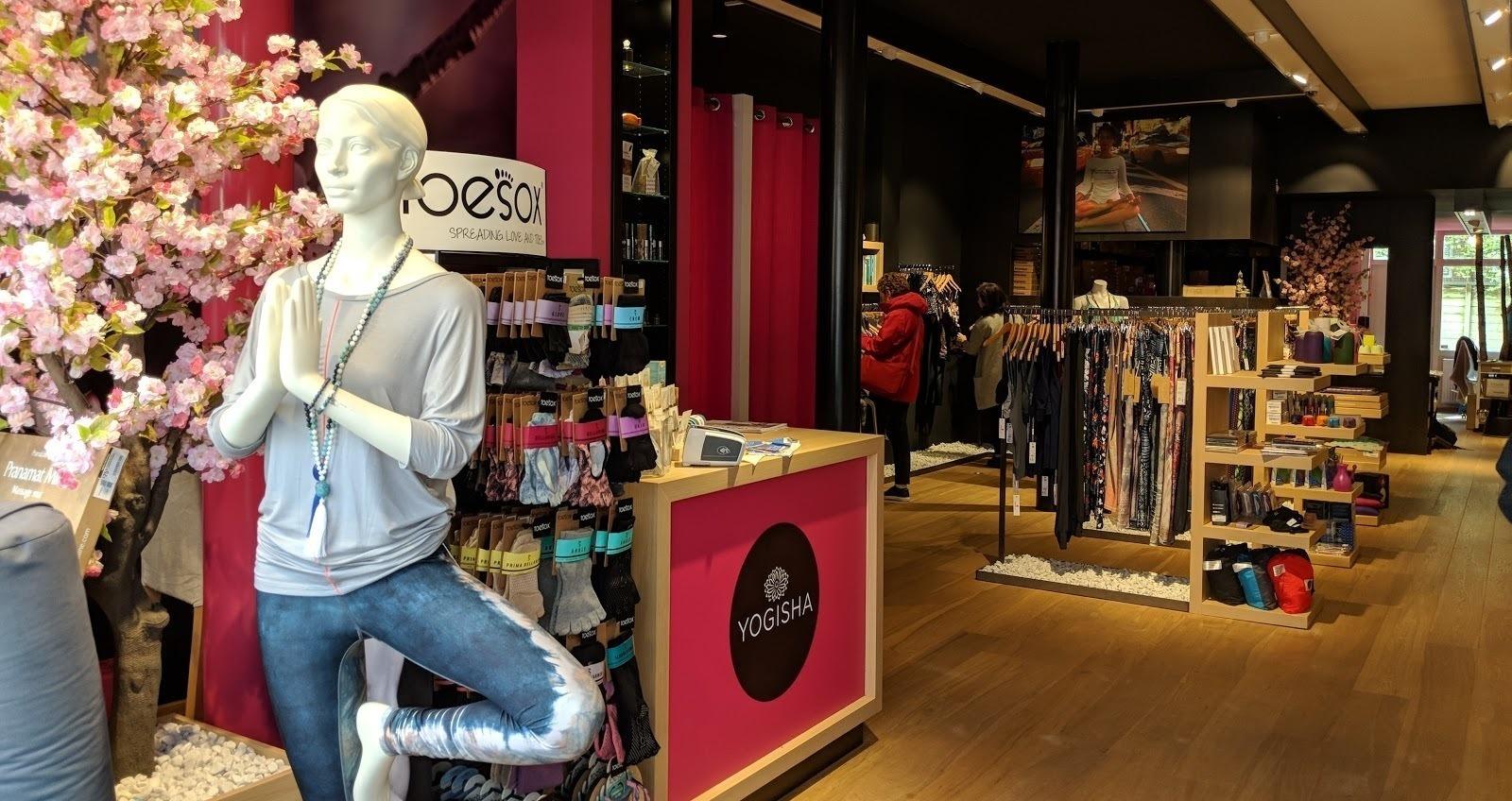 Winkel van Yogisha, Lightspeed Retail klant