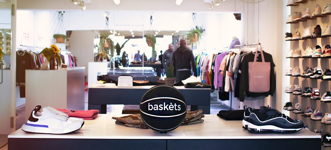 Interieur van Baskèts, Lightspeed Retail en eCom klant