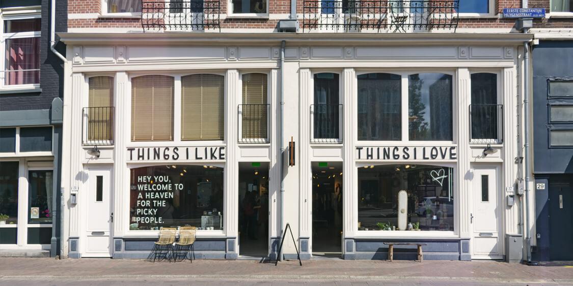 Winkel van Things I Like Things I Love, Lightspeed Retail klant
