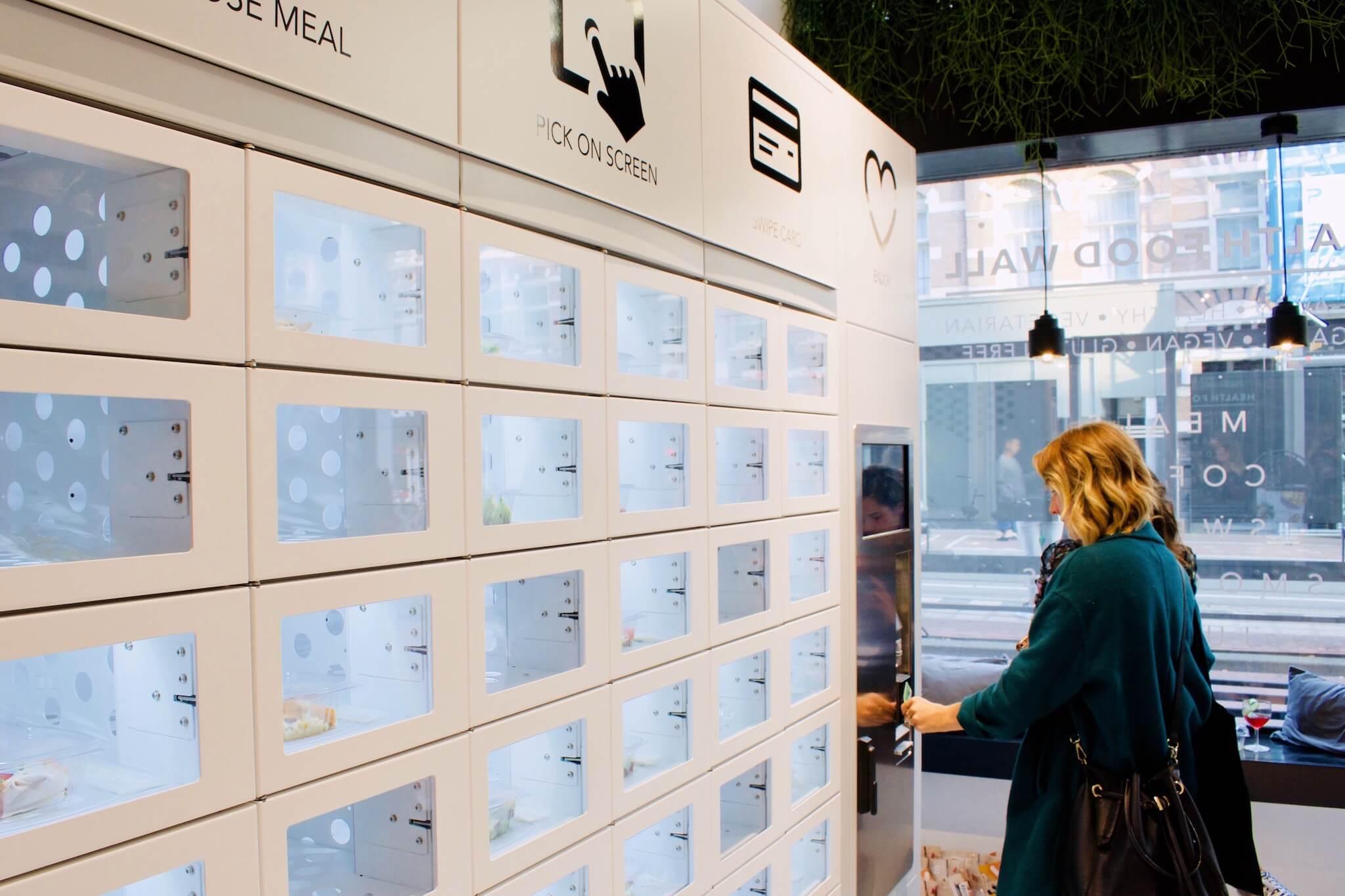 Health Food Wall: 's werelds eerste gezonde trekmuur draait op Lightspeed!