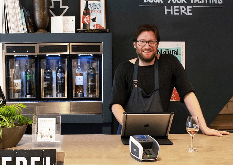 Het intuïtieve<br>kassasysteem voor<br>wijnhandels en slijterijen