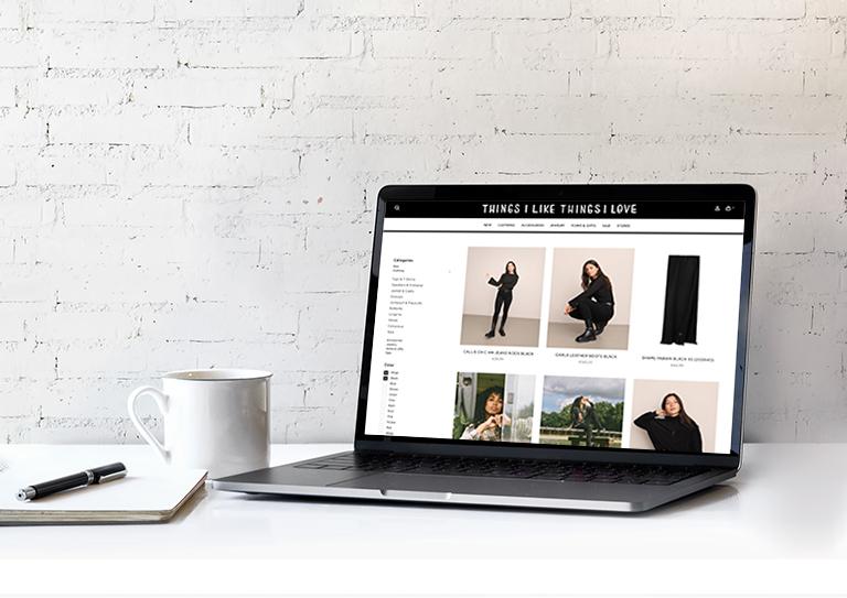 Maak jouw webshop <br>helemaal eigen