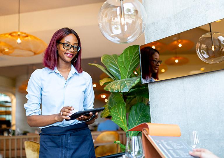 Het hotel restaurant kassasysteem ontworpen voor een flexibele service