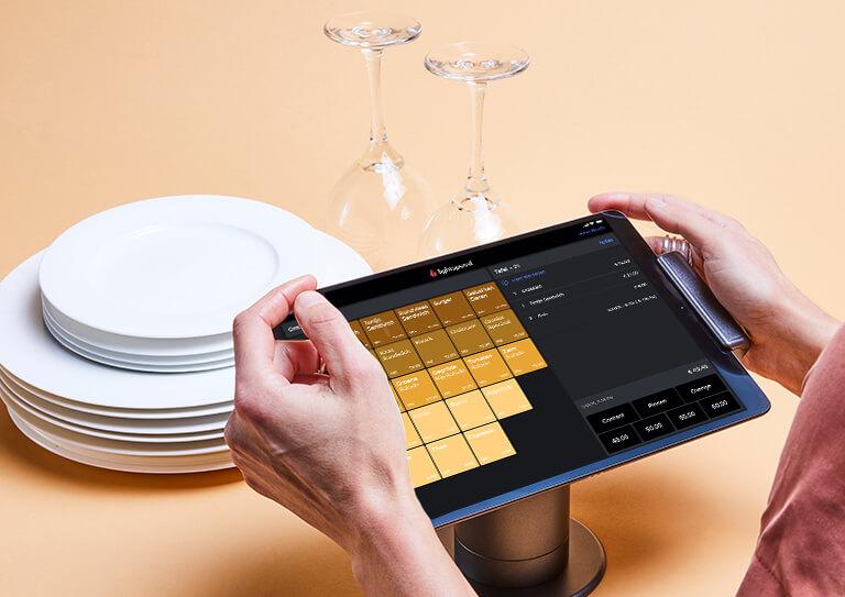 Hét flexibele en inuïtieve horeca iPad kassasysteem