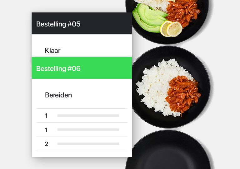 Verbeter de communicatie met onze Kitchen Display.